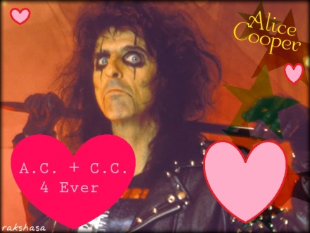 Sorry Mr. Cooper. I wasn't exactly an _artiste_.  It was totally true love, y'all.