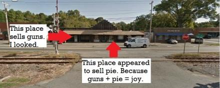 Mmm...gun pie.