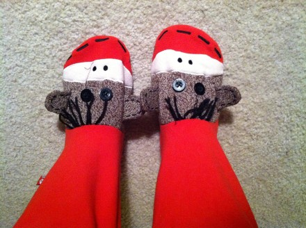 Because what grown woman does not long for monkeys on her feet? Answer me that, dear reader.