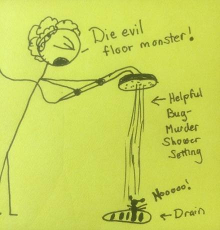 Down the drain!